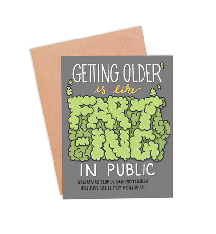 Farting in Public Card - PaperFreckles