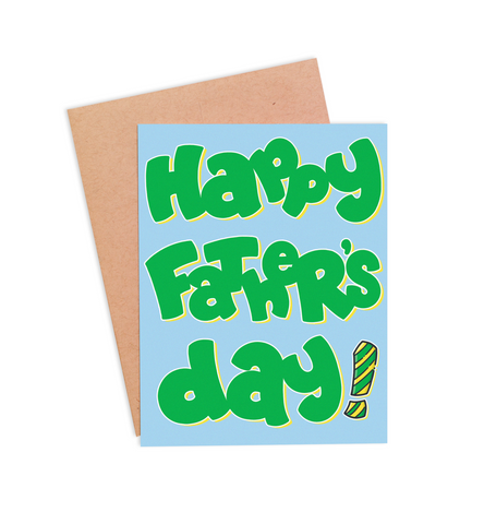 Happy Father's Day Card - PaperFreckles