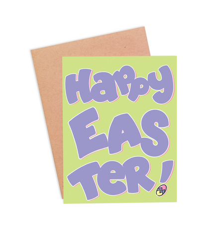 Happy Easter Card - PaperFreckles