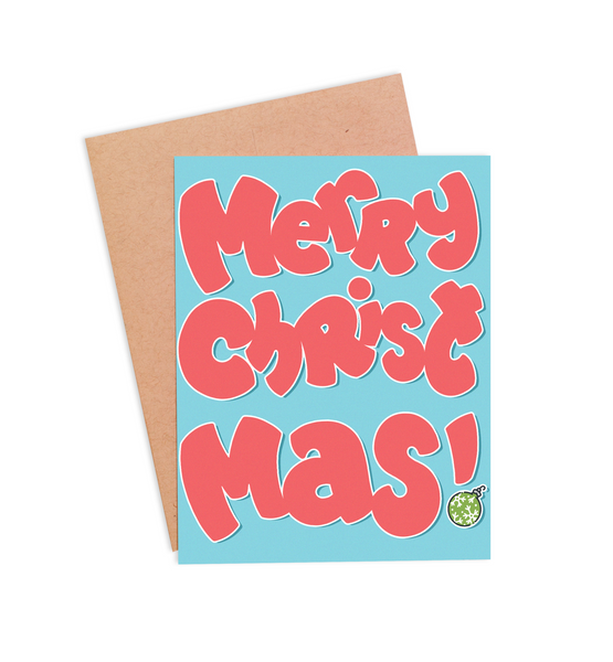 Merry Christmas! Card - PaperFreckles