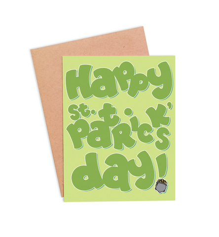 Happy St. Patrick's Day Card - PaperFreckles