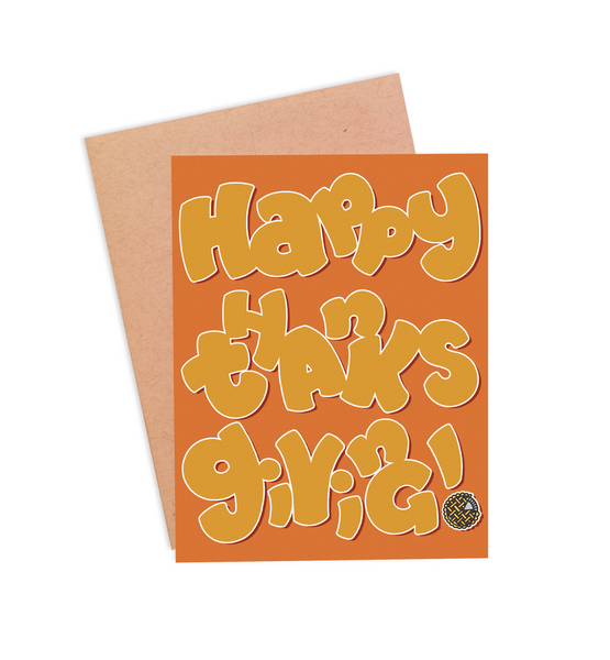 Happy Thanksgiving Card - PaperFreckles