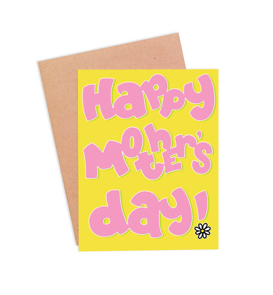 Happy Mother's Day Card - PaperFreckles