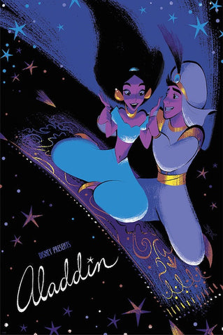 Cyclops Print Works Print #52: Aladdin by Brittney Lee