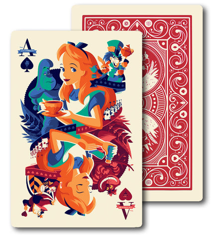 Cyclops Print Works X Mondo Collaboration Print #13: Alice in Wonderland by Tom Whalen