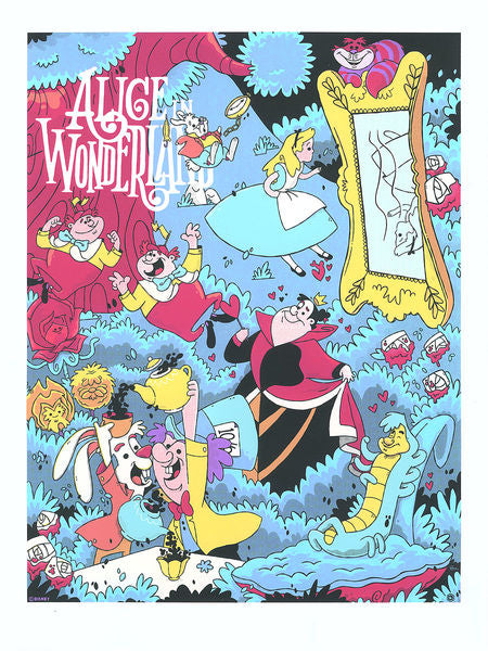 Cyclops Print Works - Alice in Wonderland by Blake Stevenson