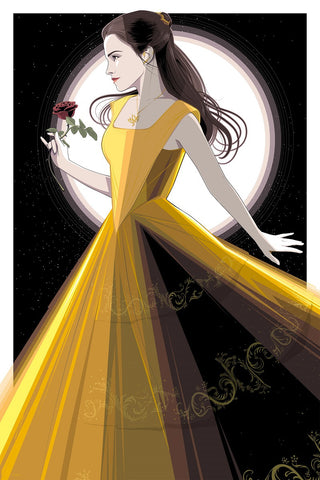 Cyclops Print Works Print #64A: Beauty and the Beast Art Print Edition by Craig Drake