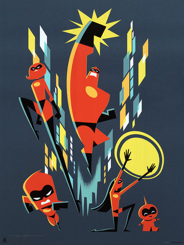 "Cyclops Print Works #79 – by Eric Tan ""Incredibles 2"""