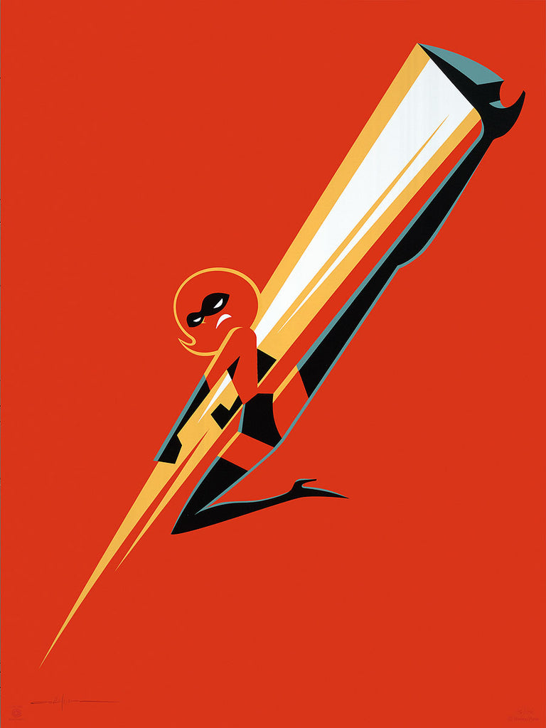 "Cyclops Print Works #81 – by Eric Tan ""Incredibles 2"""