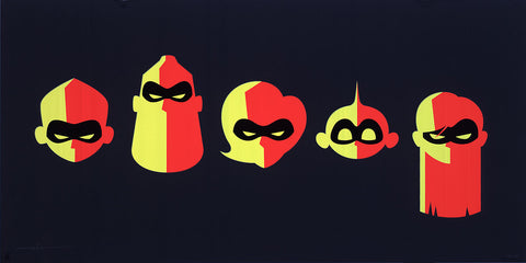 "Cyclops Print Works #80 – by Eric Tan ""Incredibles 2"""