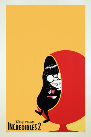 "Cyclops Print Works #83 – Edna Mode ""Mod Mode"""