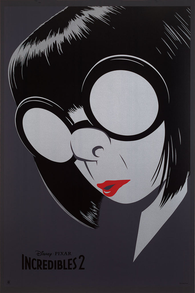 "Cyclops Print Works #84 – Edna Mode ""Welcome Back Dahlings"""