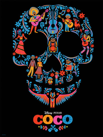 Cyclops Print Works #44 – Coco – Skull by Stacey Aoyama