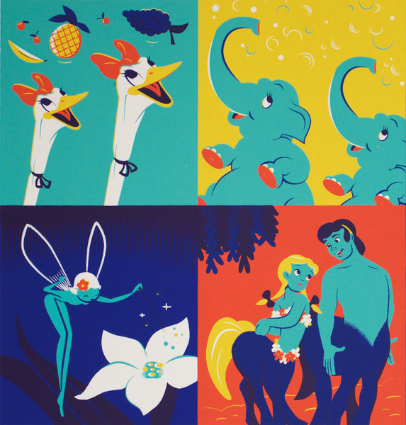Cyclops Print Works Print #05: Fantasia 75th Anniversary by Dave Perillo