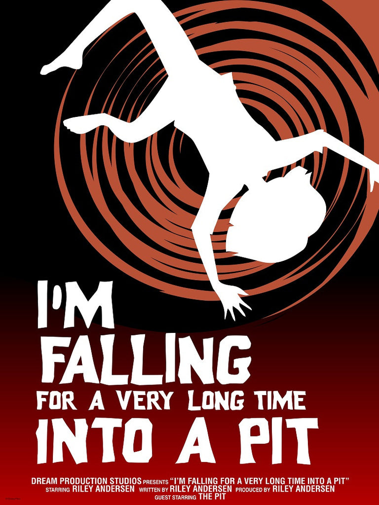 Cyclops Print Works Print #36: I'm Falling For A Very Long Time Into A Pit by Craig Foster