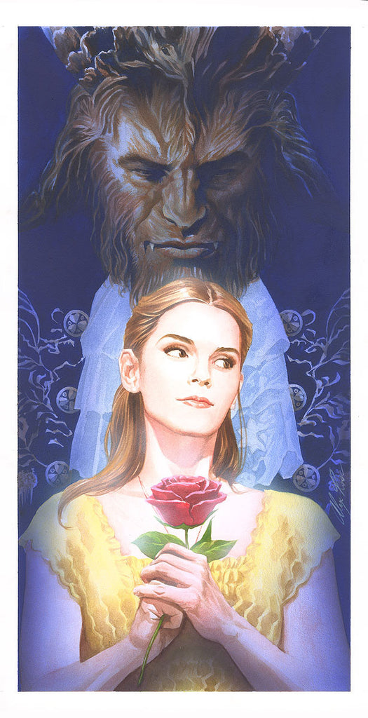 Cyclops Print Works X Alex Ross Print #01: La Belle et la Bête by Alex Ross