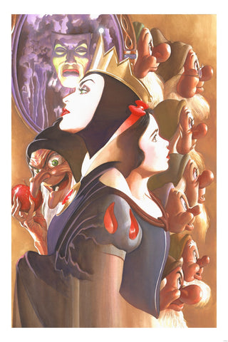 Cyclops Print Works X Alex Ross Print #02: Once There Was A Princess by Alex Ross