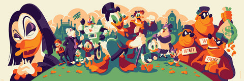 Cyclops Print Works Print # 70 - Ducktales (Magica De Spell Edition)- By Tom Whalen