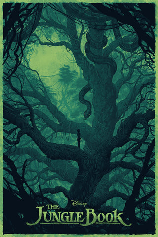 Cyclops Print Works X Mondo Collaboration Print #01: The Jungle Book by Daniel Danger