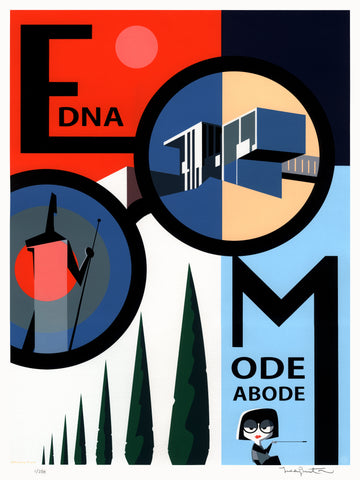 Edna Mode Abode by Teddy Newton