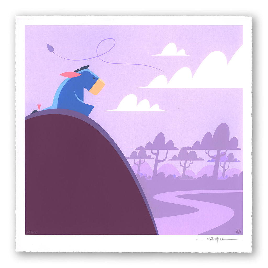 Winnie the Pooh Limited Edition Print Set -- Eeyore by Eric Tan
