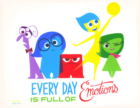 Cyclops Print Works Print #00: Every Day Is Full Of Emotions by Stacey Aoyama