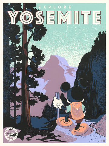 Explore Yosemite by Bret Iwan