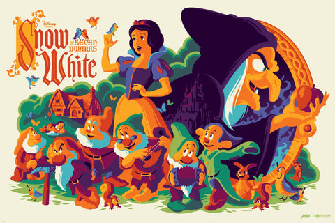 Cyclops Print Works Print x Mondo #38V: Snow White and the Seven Dwarfs 'The Hag' 80th Anniversary Edition