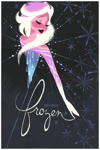 Cyclops Print Works Print #18: Frozen - Elsa by Brittney Lee