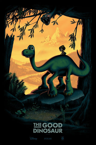 Cyclops Print Works Print #31: The Good Dinosaur by Mark Englert