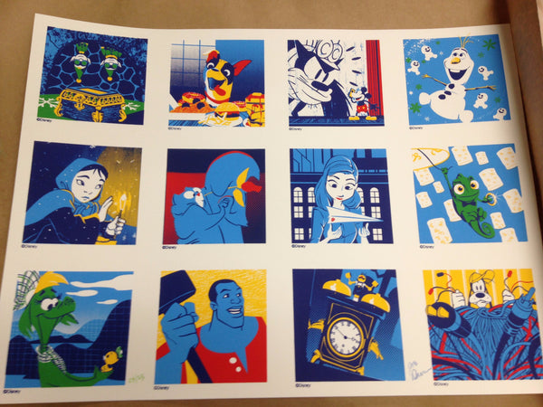 Cyclops Print Works Print #S01: Walt Disney Animation Studios Short Films Collection by Joe Dunn
