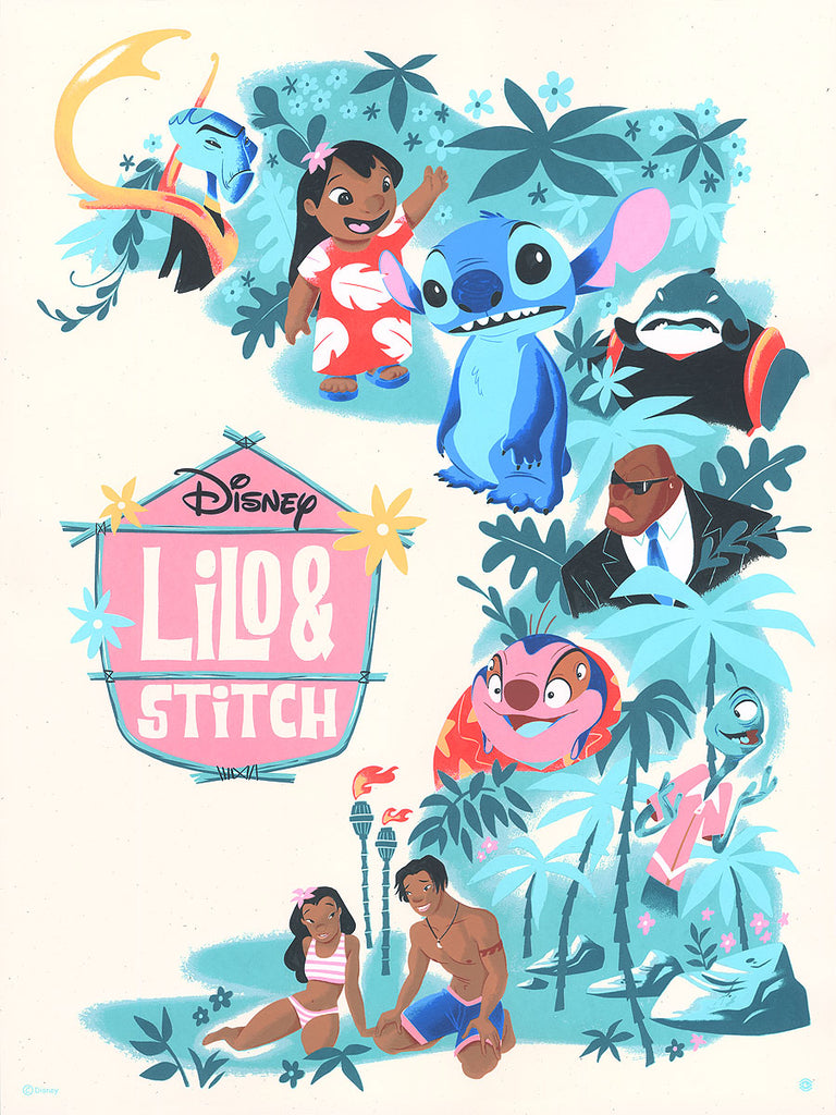 Lilo & Stitch by Daniel Arriaga