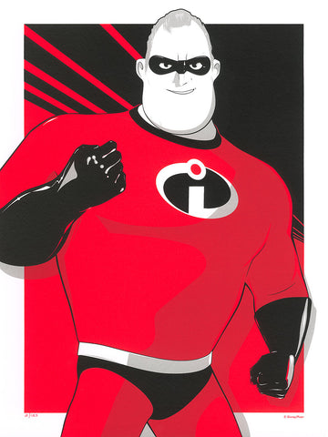 "Cyclops Print Works #90 – by Craig Drake ""Mr. Incredible"""