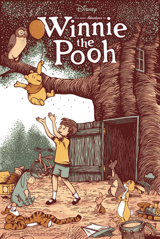 Cyclops Print Works #99 – Winnie the Pooh – by Adam Johnson