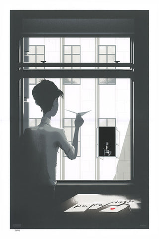 Cyclops Print Works Print #10: Paperman by JC Richard