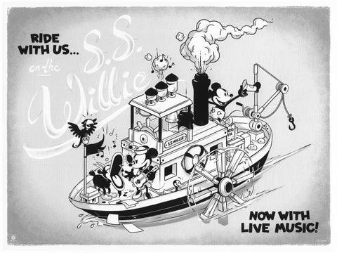 Ride With Us on the SS Willie by Ameorry Luo