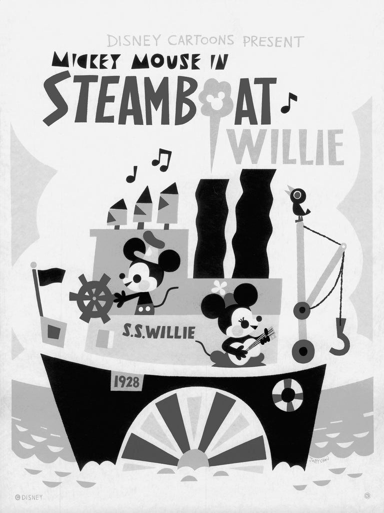 Steamboat Willie by Joey Chou