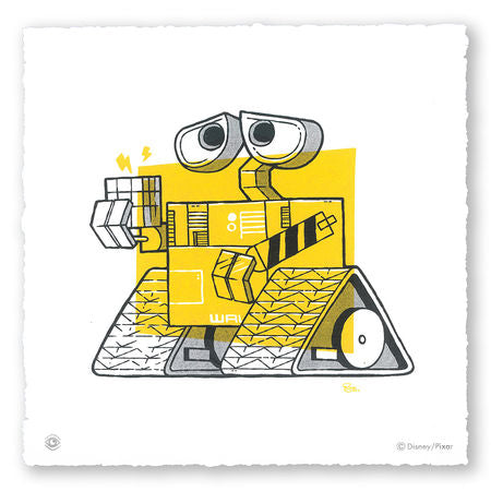 Cyclops Print Works - WALL-E by Blake Stevenson