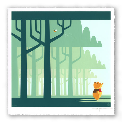 Winnie the Pooh Limited Edition Print Set -- Pooh by Eric Tan