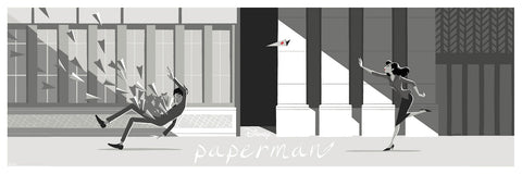 Cyclops Print Works Print #41: Paperman by Jisoo Kim