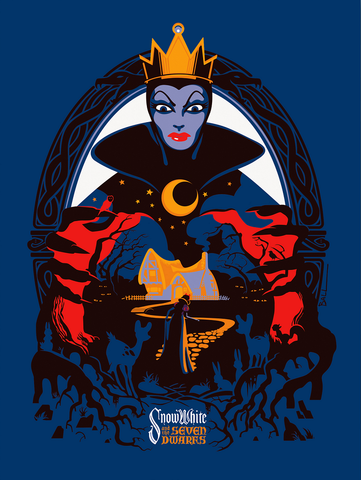 Cyclops Print Works Print #17: Snow White and the Seven Dwarfs by Robert Ball