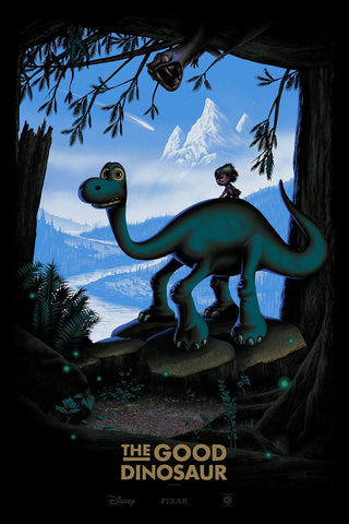 Cyclops Print Works Print #31V: The Good Dinosaur Variant Edition by Mark Englert