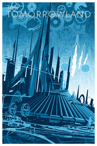 Cyclops Print Works Print #11: Tomorrowland by Joe Dunn