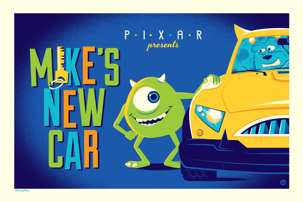 "Cyclops Print Works Print # 77 ""Mike's New Car"" Regular Edition by Dave Perillo"