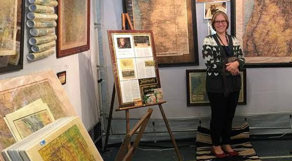 Lisa Middleton map artist featured in documentary