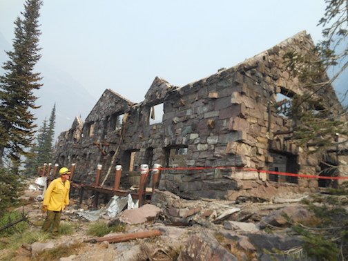 Crews work to preserve Sperry Chalet over winter