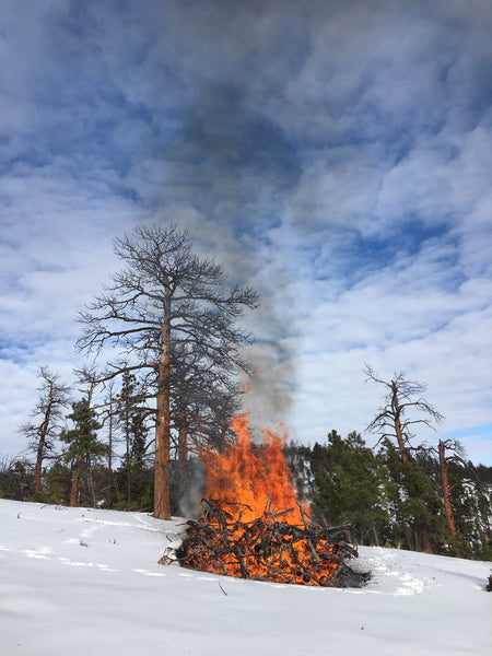 Open burning allowed in Montana