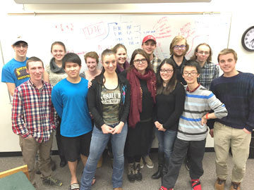 Math students compete in grueling international competition