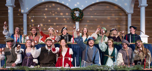The 54th annual MSU School of Music production transports contemporary guests to a Renaissance feast in a great baronial hall. Members of the MSU choral groups become knaves and wenches who perform the traditional carols sung for centuries during the 12 d