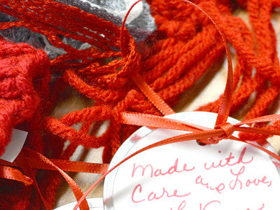 Knit a scarf for foster children
